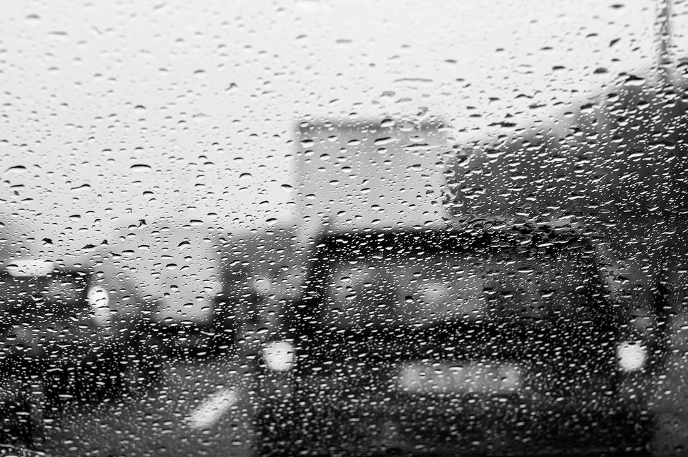 STAU im Regen