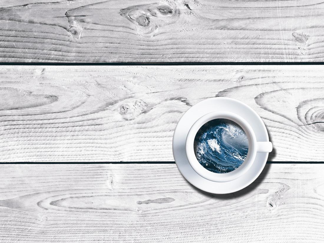 Sturm in der Kaffeetasse Jan Tervooren | Fotograf | Delta Digital